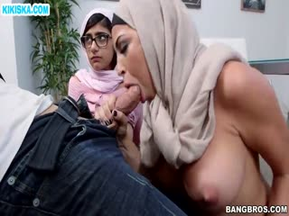 Скриншот Групповуха с арабскими студентками