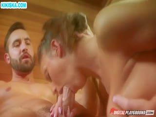 Скриншот Раскрутил девку на секс в сауне