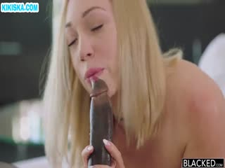 Скриншот Негр удовлетворил блондинку смачным трахом